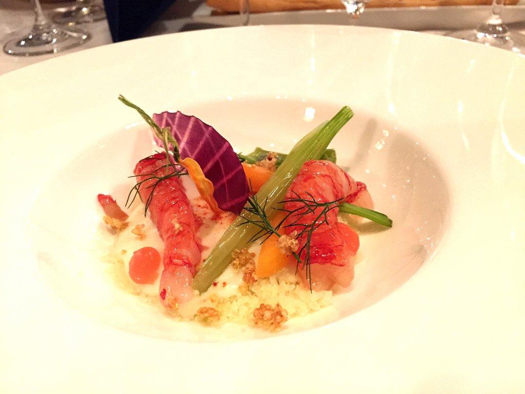 Cous cous di cavolfiore, Derby Grill, Chef Fabio Silva Viale, Monza