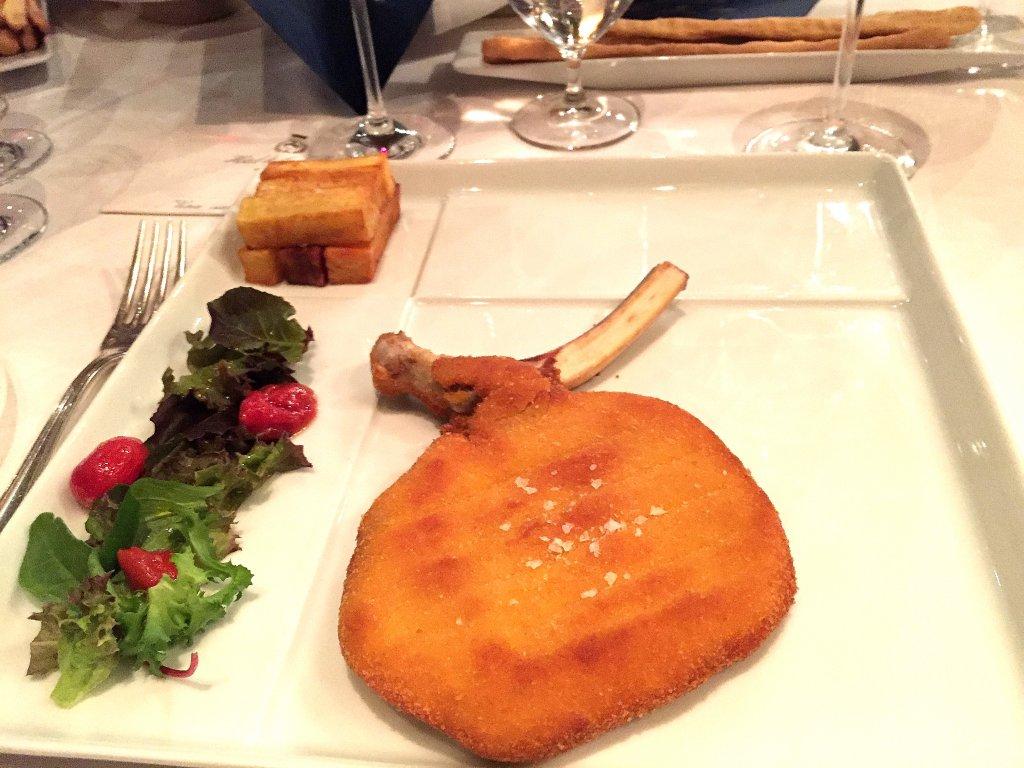 Cotoletta alla milanese, Derby Grill, Chef Fabio Silva Viale, Monza