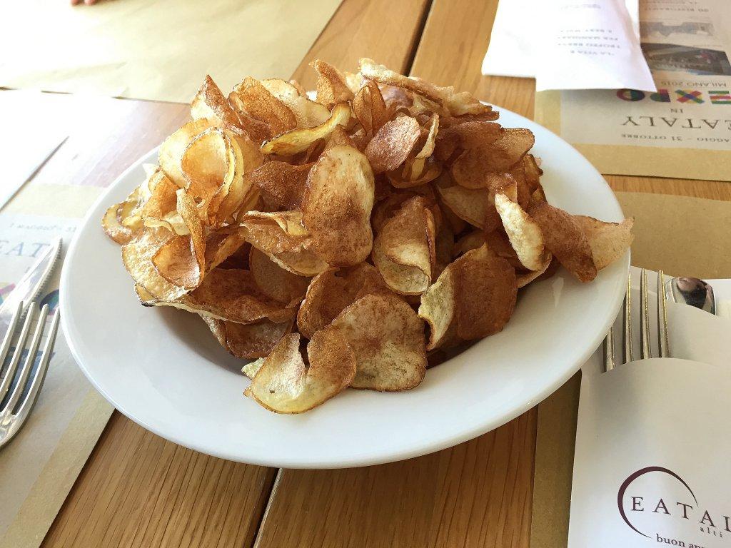 patatine fritte, Osteria, Eataly, Puglia