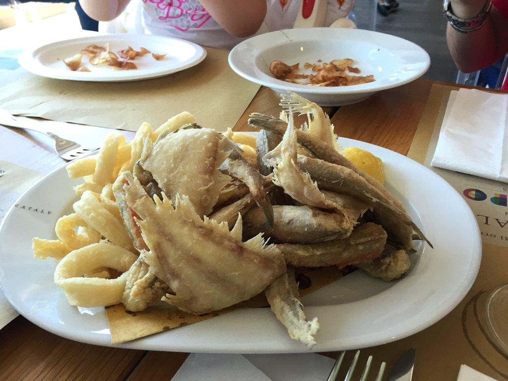 frittura, Osteria, Eataly, Puglia