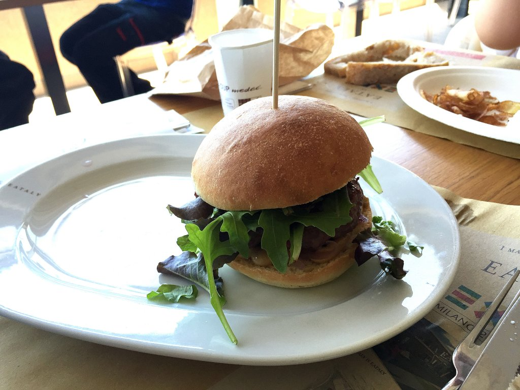 Hamburger, Osteria, Eataly, Puglia