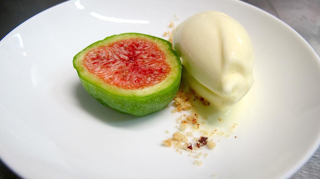 fico gelato e foglie di fico, Gelinaz! shuffle, Andrea Petrini