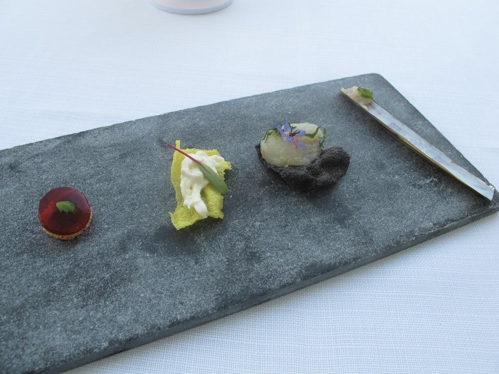 Stuzzichini, La Magnolia, Chef Cristoforo Trapani, Forte dei Marmi