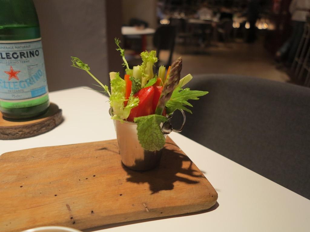verdure, La Maniera di Carlo, Chef Francesco Germani, Milano