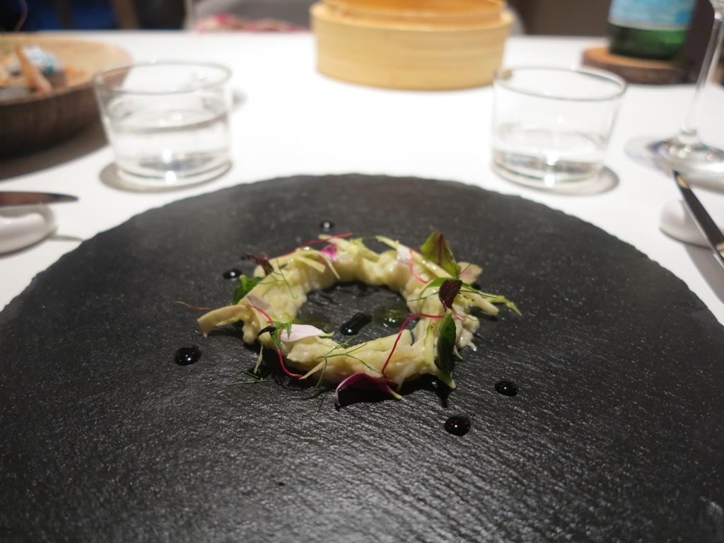 Seppia Soia Wasabi, La Maniera di Carlo, Chef Francesco Germani, Milano