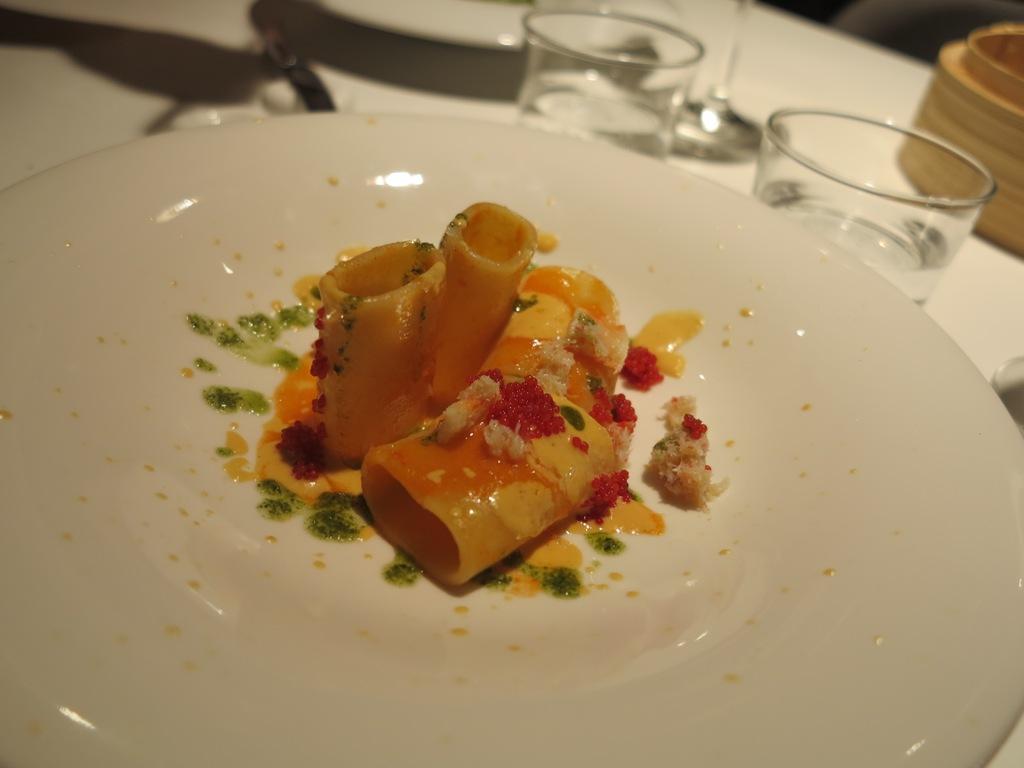pacchetti uova di lampo, La Maniera di Carlo, Chef Francesco Germani, Milano