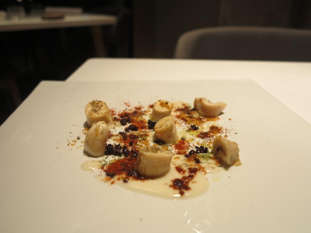 piovra, cavolfiore, La Maniera di Carlo, Chef Francesco Germani, Milano
