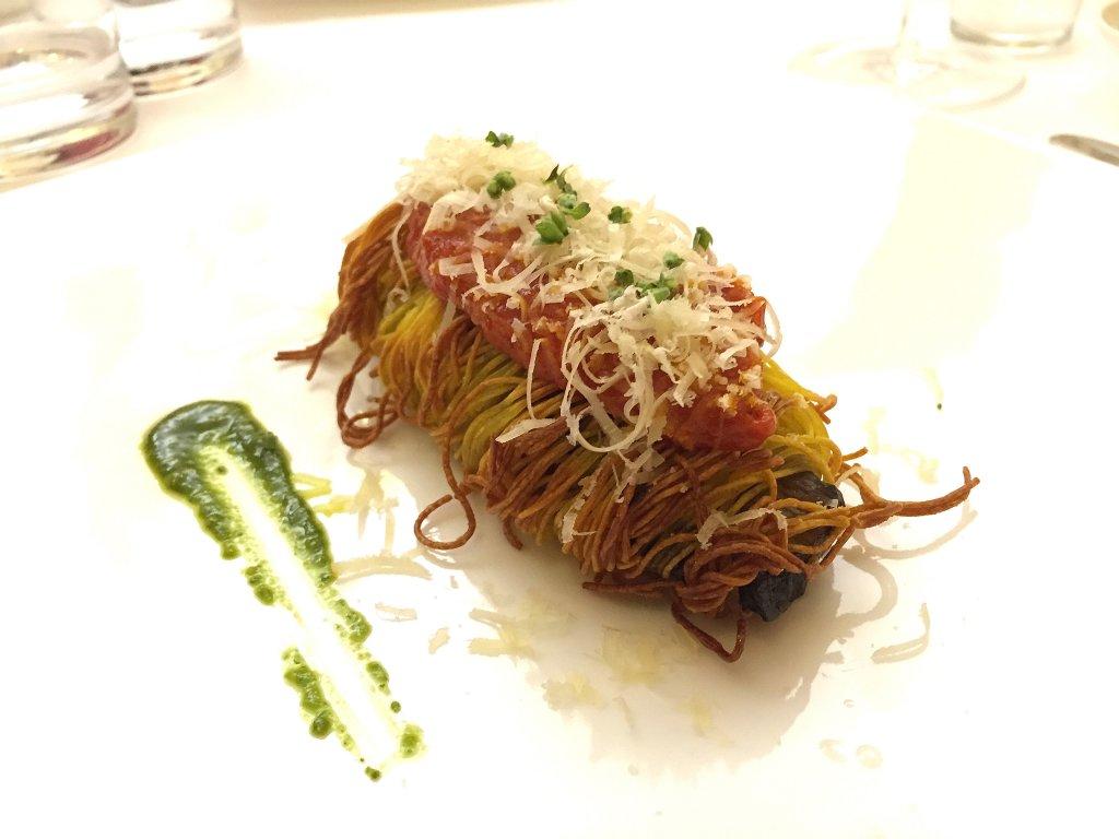 melanzana, La Madia, Chef Pino Cuttaia, Licata