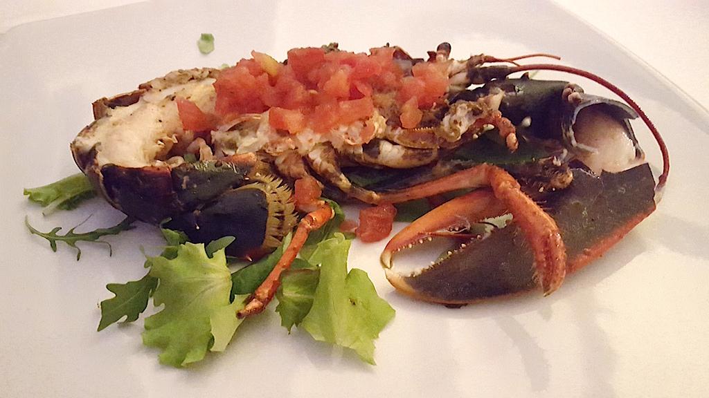 leone di mare, Rosario all'Albos Club, Chef Rosario Malapena, Fregene, Roma