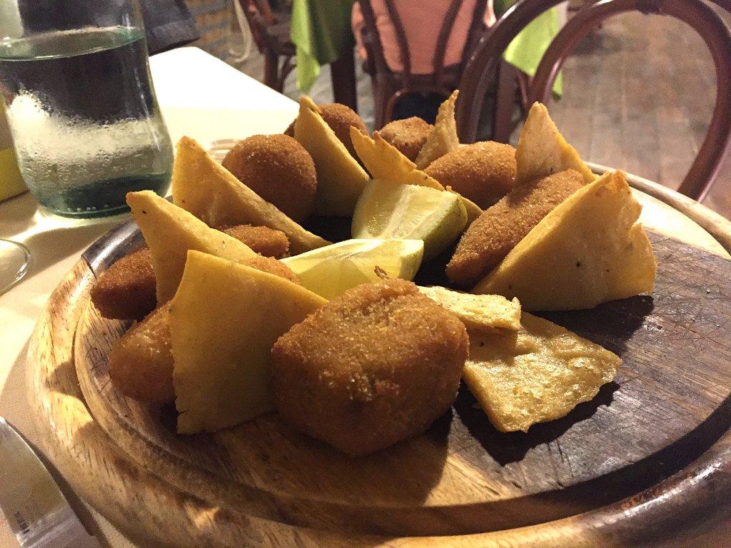 fritti, Sarda Salata, Licata, Sicilia