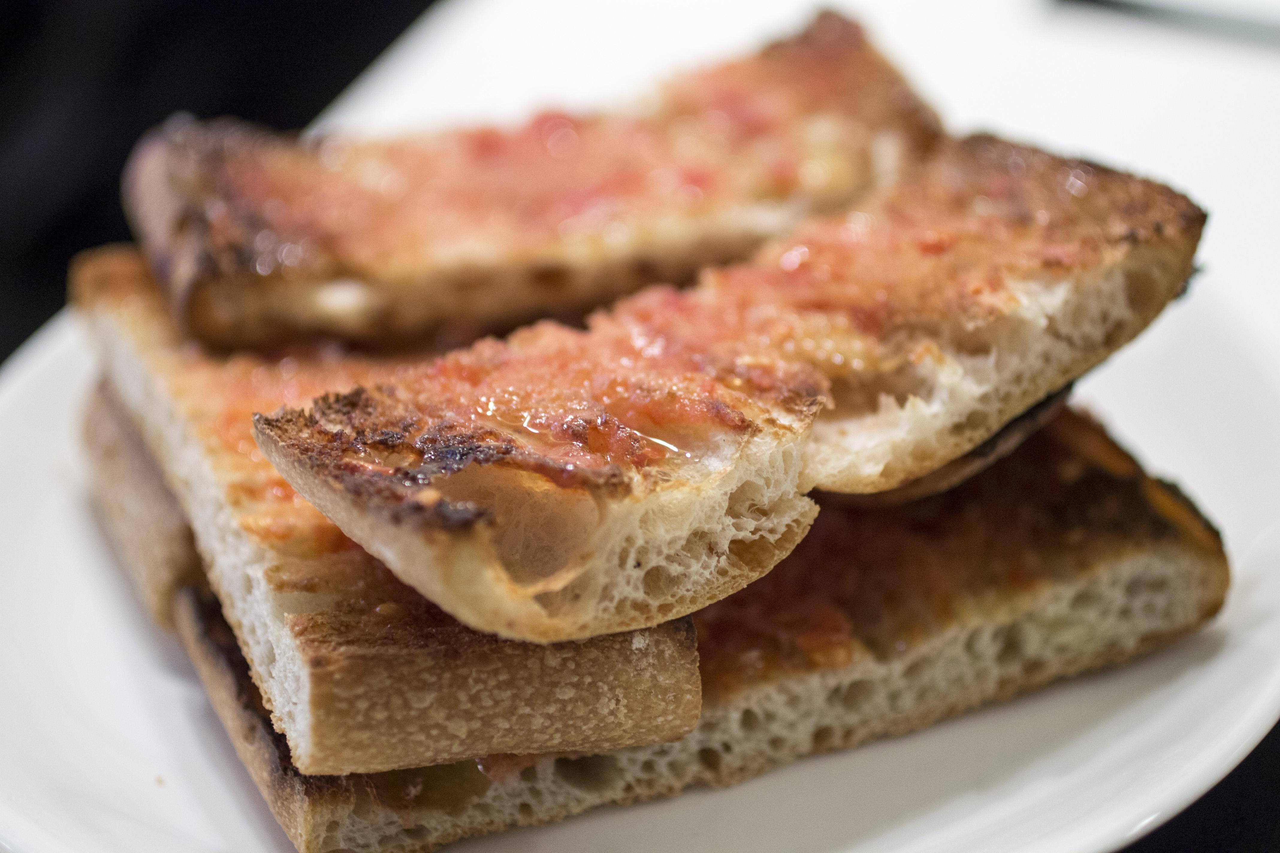 pane al pomodoro, Ten's, Tapas Bar, Barcellona