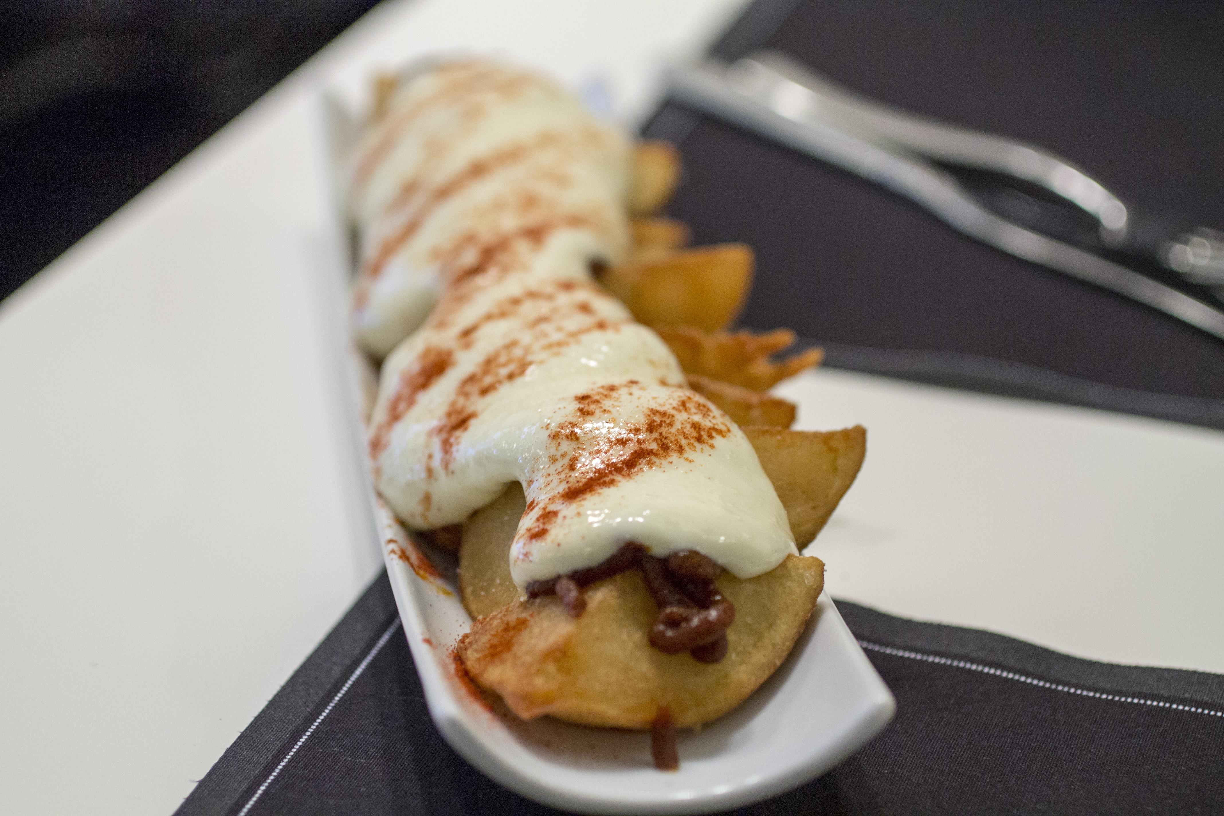 patatas bravas, Ten's, Tapas Bar, Barcellona