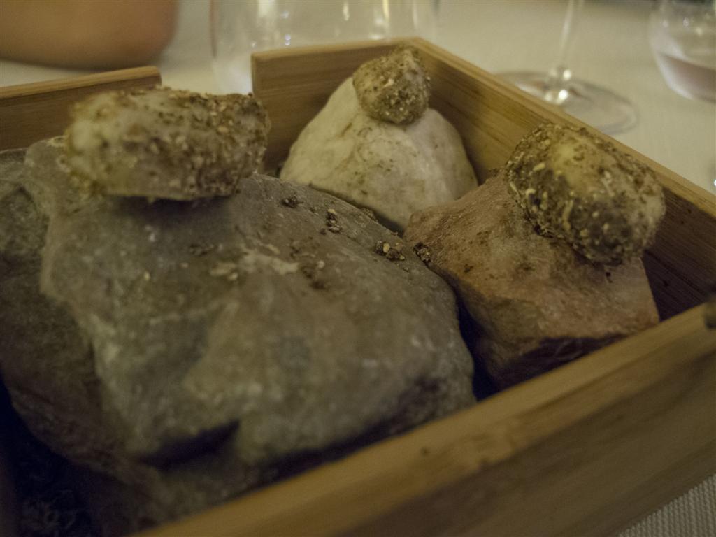 tartufo di formaggio, Il Tiglio, Chef Enrico Lazzaroni, Montemonaco