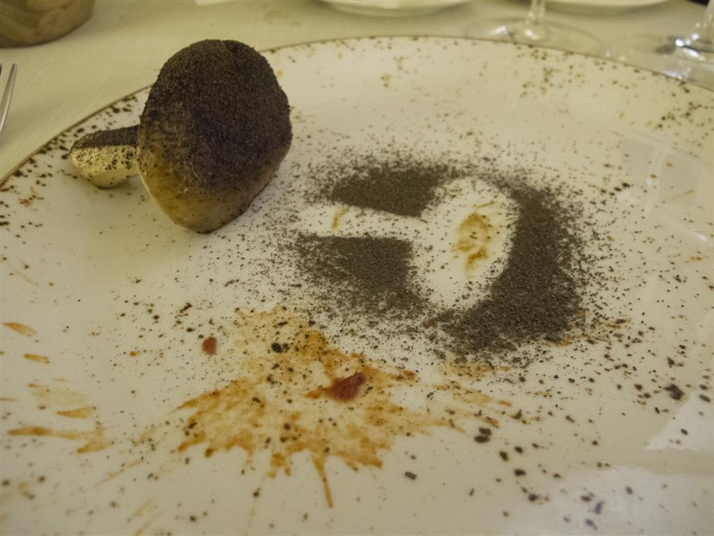 fungo porcino,  Il Tiglio, Chef Enrico Lazzaroni, Montemonaco