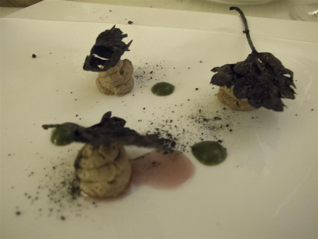 fegato di vitello, Il Tiglio, Chef Enrico Lazzaroni, Montemonaco