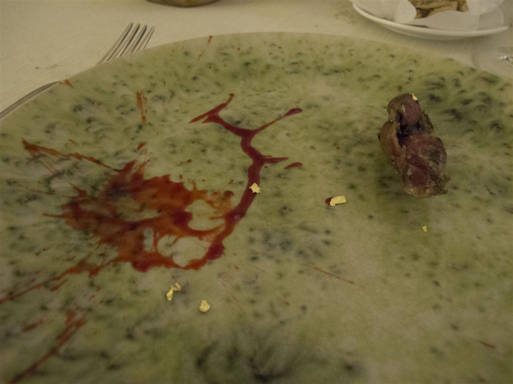 duello di pollo,  Il Tiglio, Chef Enrico Lazzaroni, Montemonaco