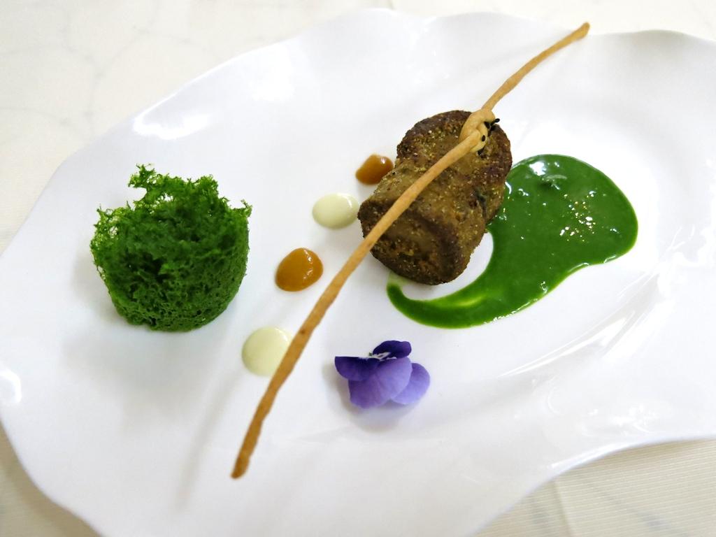 Crocchette di lumache, La Trota, Chef Sandro e Maurizio Serva, Rivodutri, Abruzzo