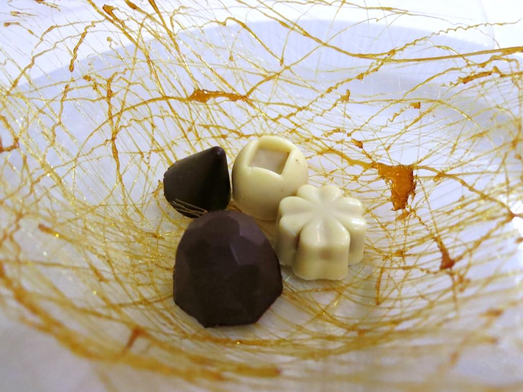 cioccolatini, La Trota, Chef Sandro e Maurizio Serva, Rivodutri, Abruzzo