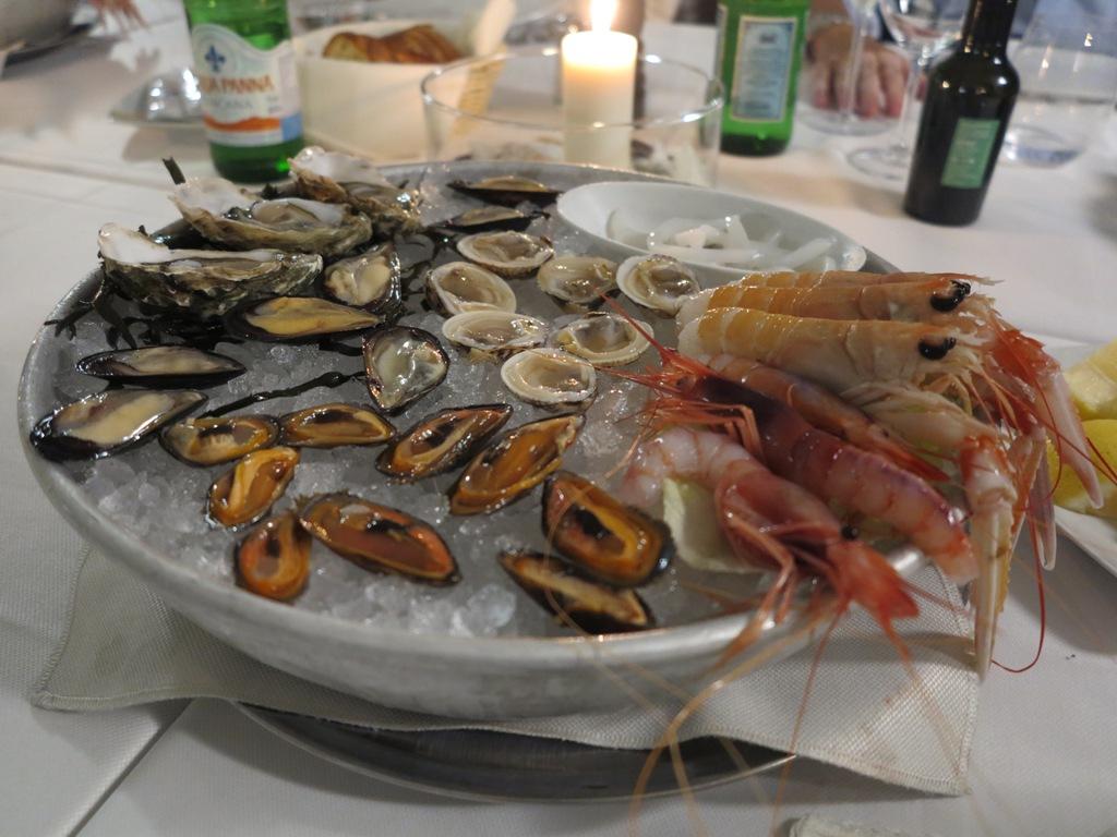Crostacei e frutti di mare, Da Tuccino, Chef Enzo Florio, Polignano A Mare