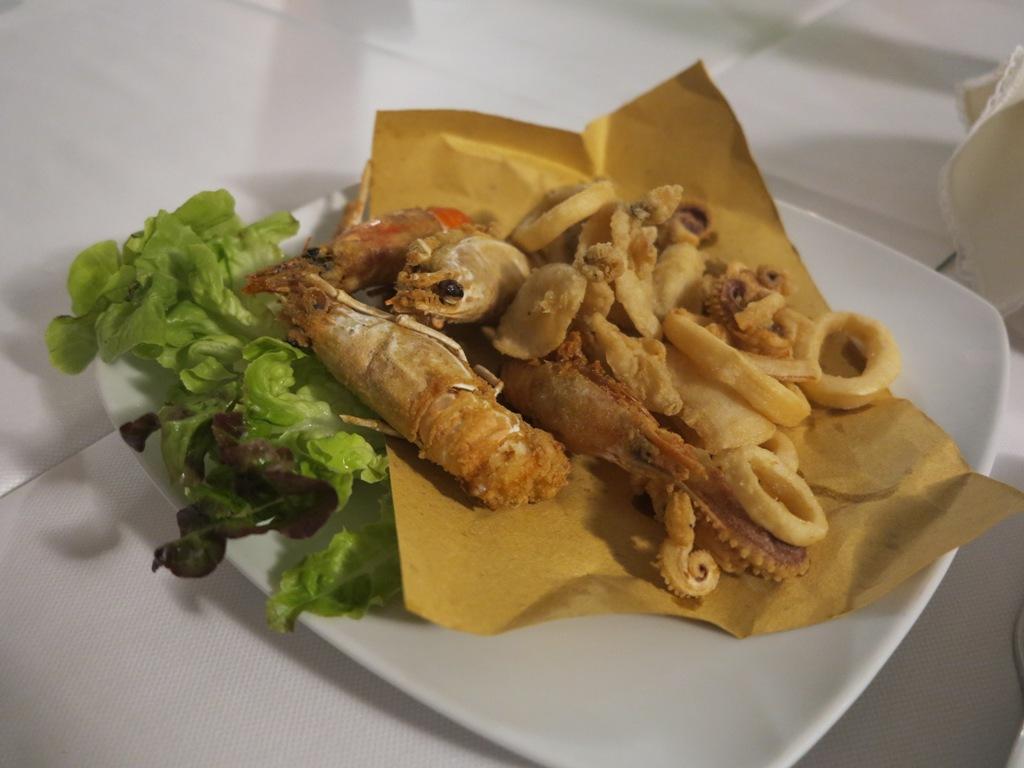 fritto, Da Tuccino, Chef Enzo Florio, Polignano A Mare
