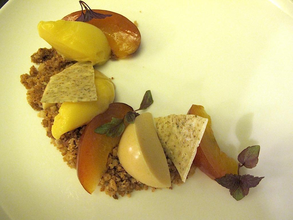 crumble di nocciole, Bistrot64, Chef Noda Kotaro, Roma