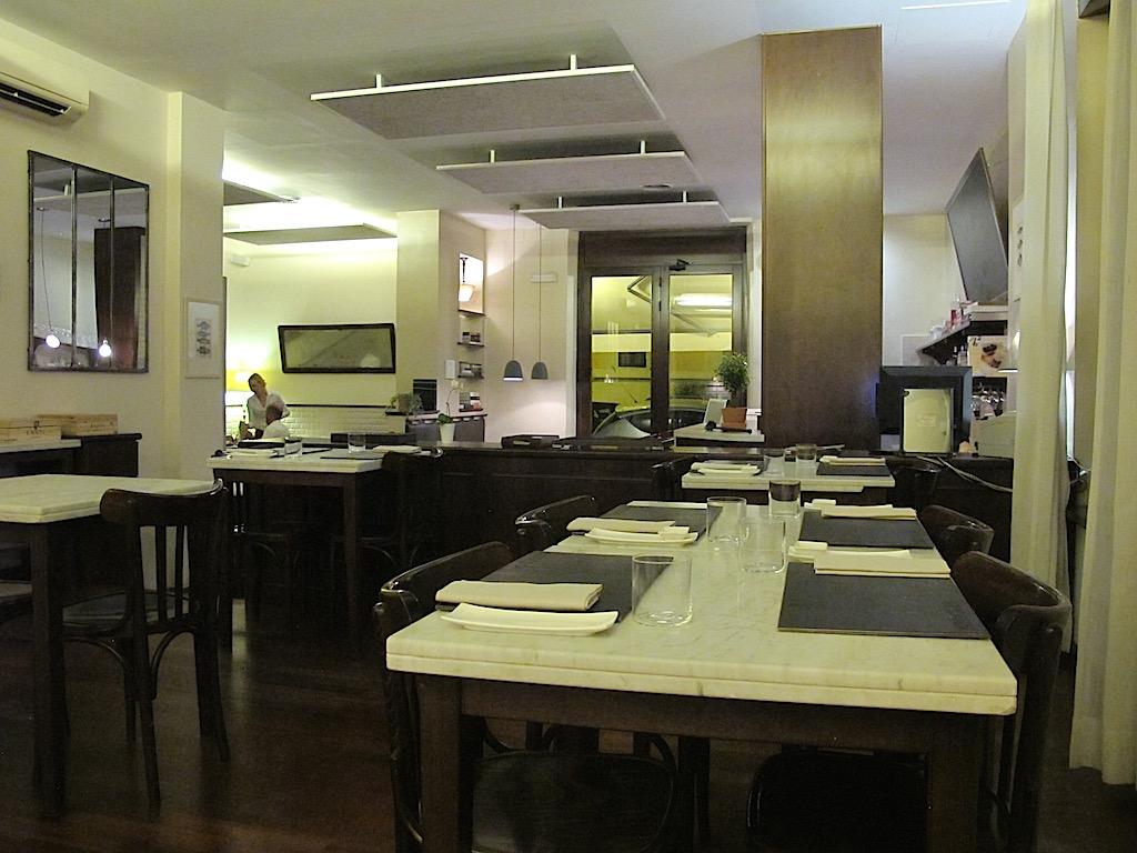 sala, Bistrot64, Chef Noda Kotaro, Roma