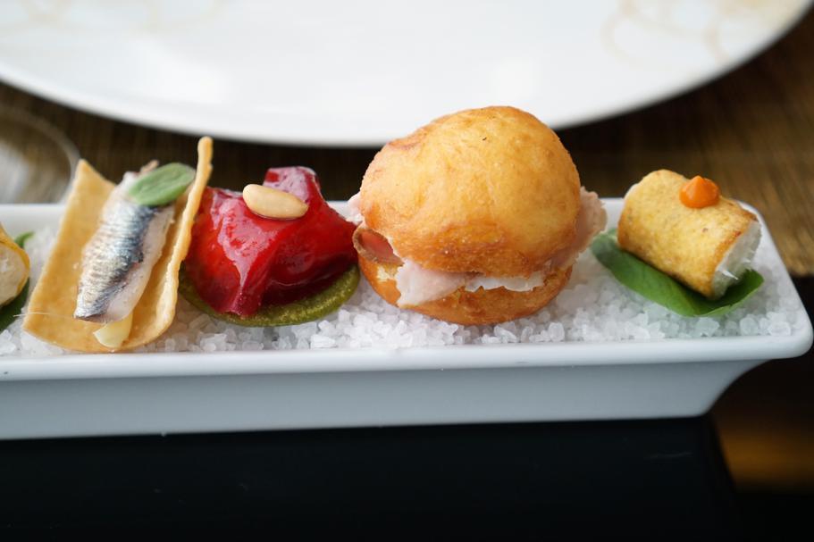 Appetizer, Dopolavoro Dining Room, Chef Federico Belluco, Giancarlo Perbellini, Isola delle Rose, Venezia