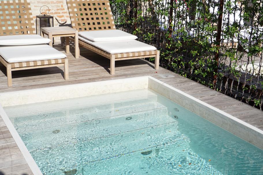 piscina, JW Marriott Venezia, Isola delle Rose, Venezia