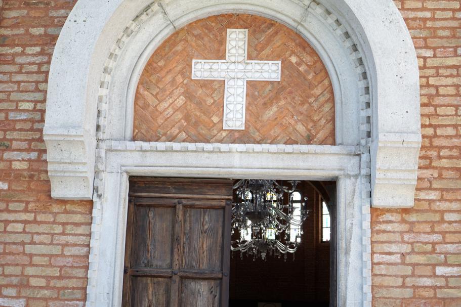 chiesa, JW Marriott Venezia, Isola delle Rose, Venezia