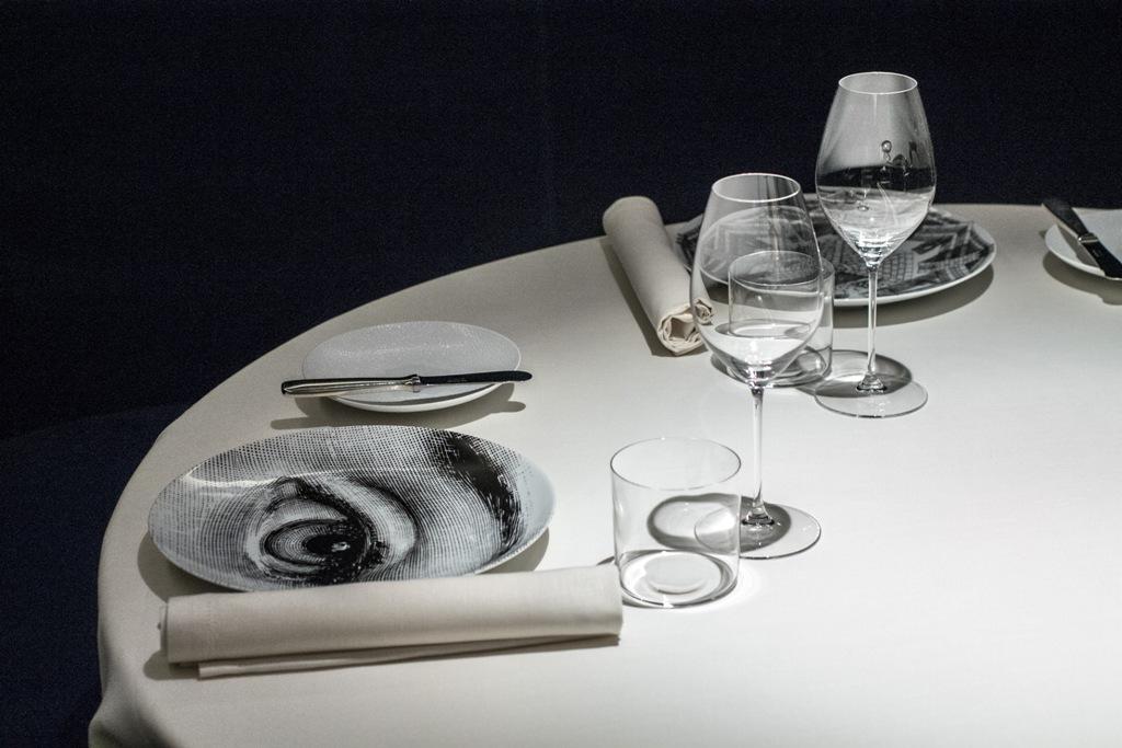 Mise en place, Seta, Chef Antonio Guida, Mandarin Oriental, Milano