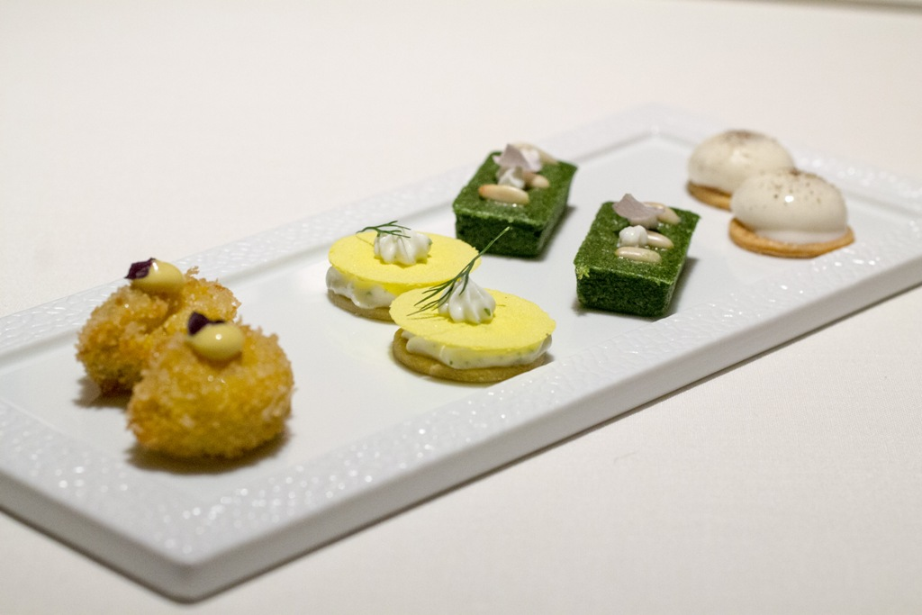Amuse bouche, Seta, Chef Antonio Guida, Mandarin Oriental, Milano