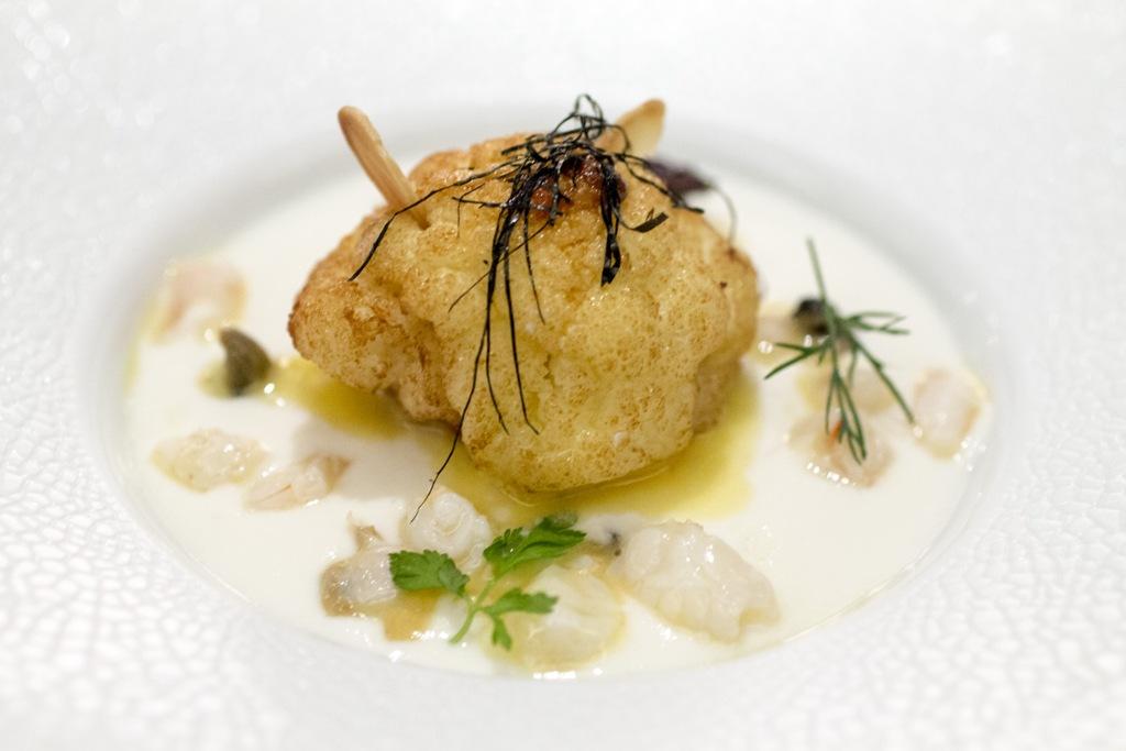 Cavolfiore, Seta, Chef Antonio Guida, Mandarin Oriental, Milano