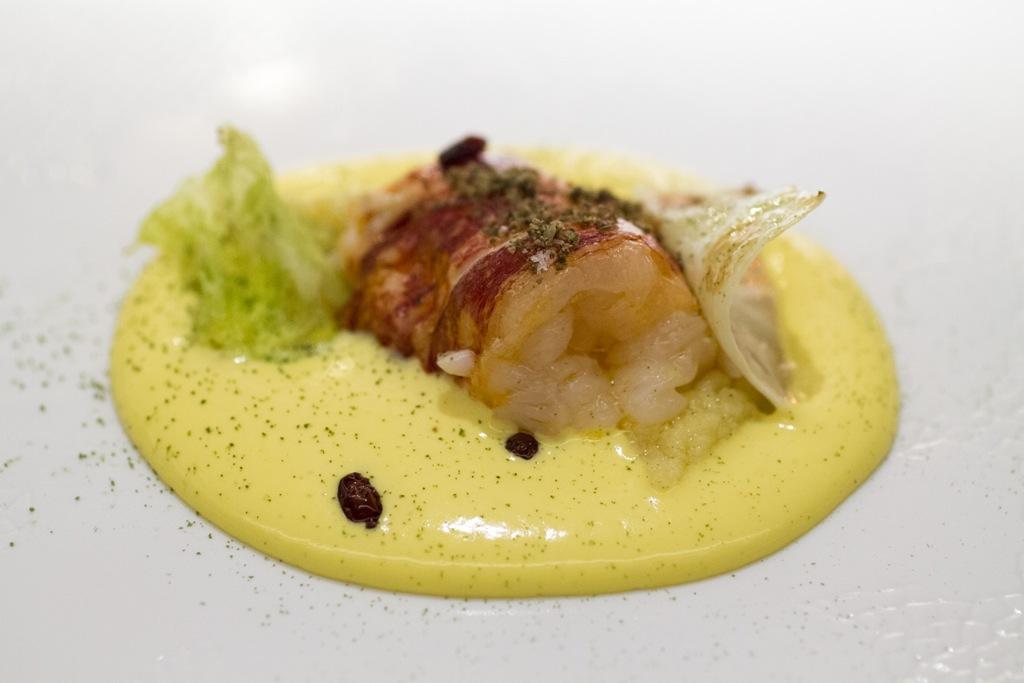 Astice blu, Seta, Chef Antonio Guida, Mandarin Oriental, Milano