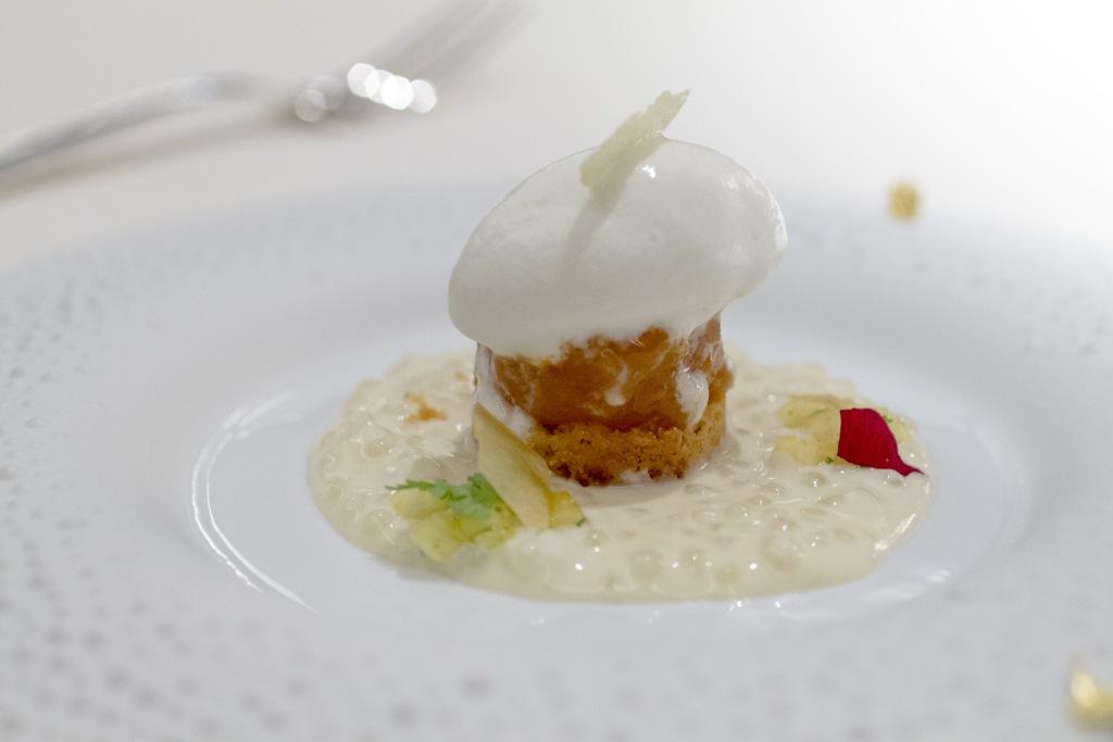 Ananas, Seta, Chef Antonio Guida, Mandarin Oriental, Milano