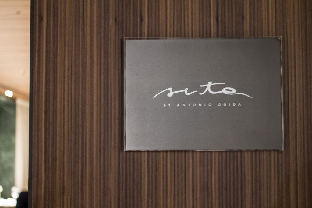 Insegna, Seta, Chef Antonio Guida, Mandarin Oriental, Milano