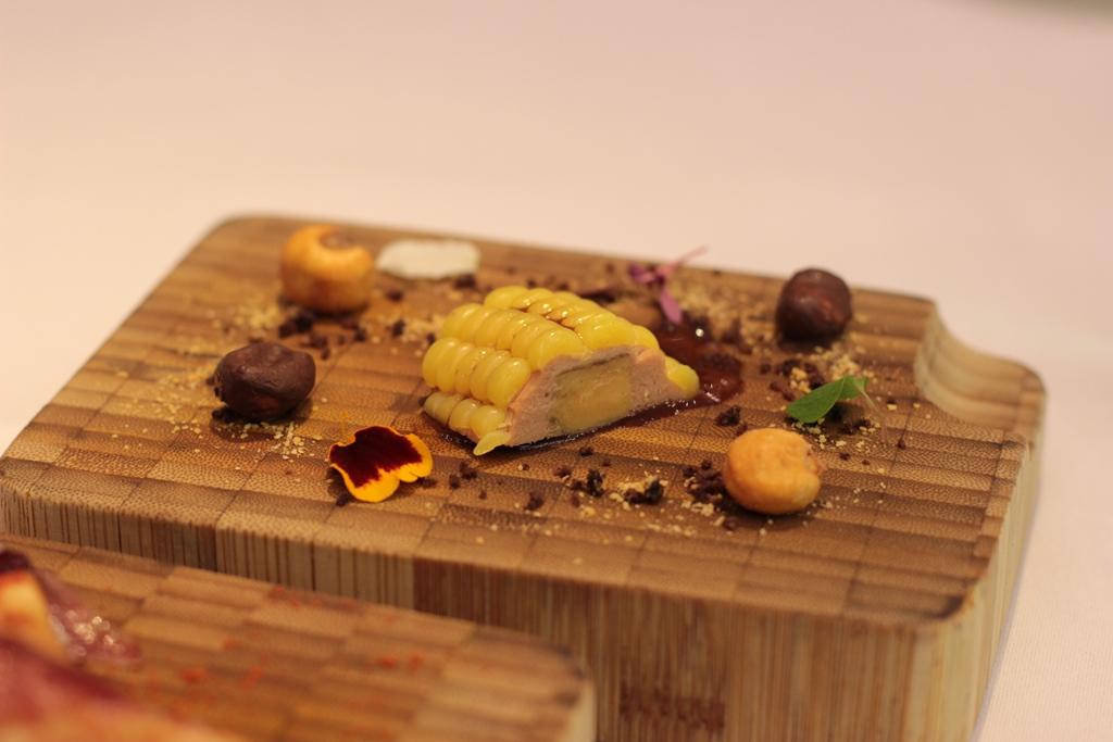 pannocchia di foie gras, Ametsa, Chef Sergi Sanz, Londra