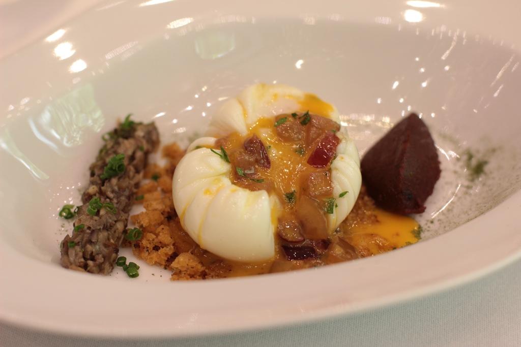 uovo, Ametsa, Chef Sergi Sanz, Londra