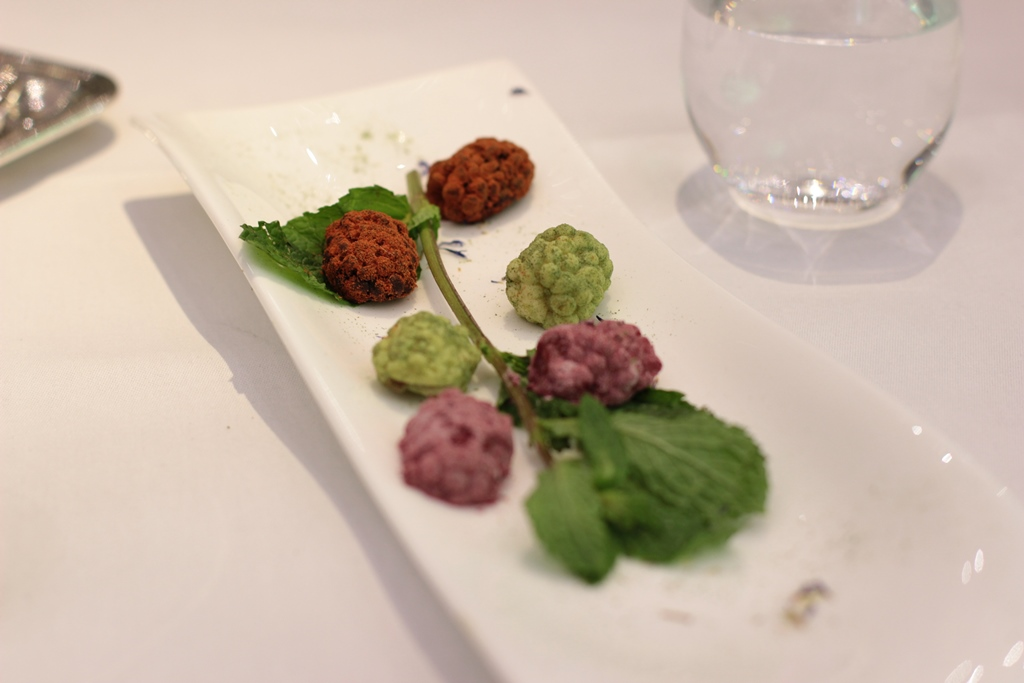 gelatine di frutta, Ametsa, Chef Sergi Sanz, Londra