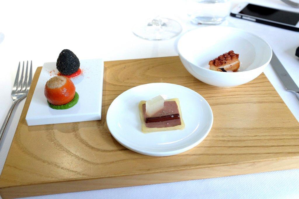 appetizers, I Due Buoi, Chef Andrea Ribaldone, Alessandria