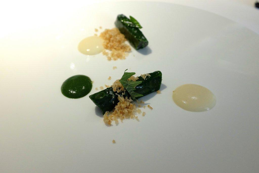 Acciughe al verde, I Due Buoi, Chef Andrea Ribaldone, Alessandria