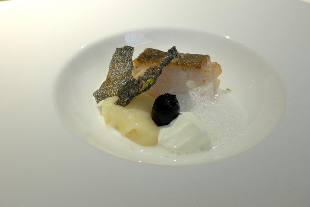 merluzzo salato, I Due Buoi, Chef Andrea Ribaldone, Alessandria