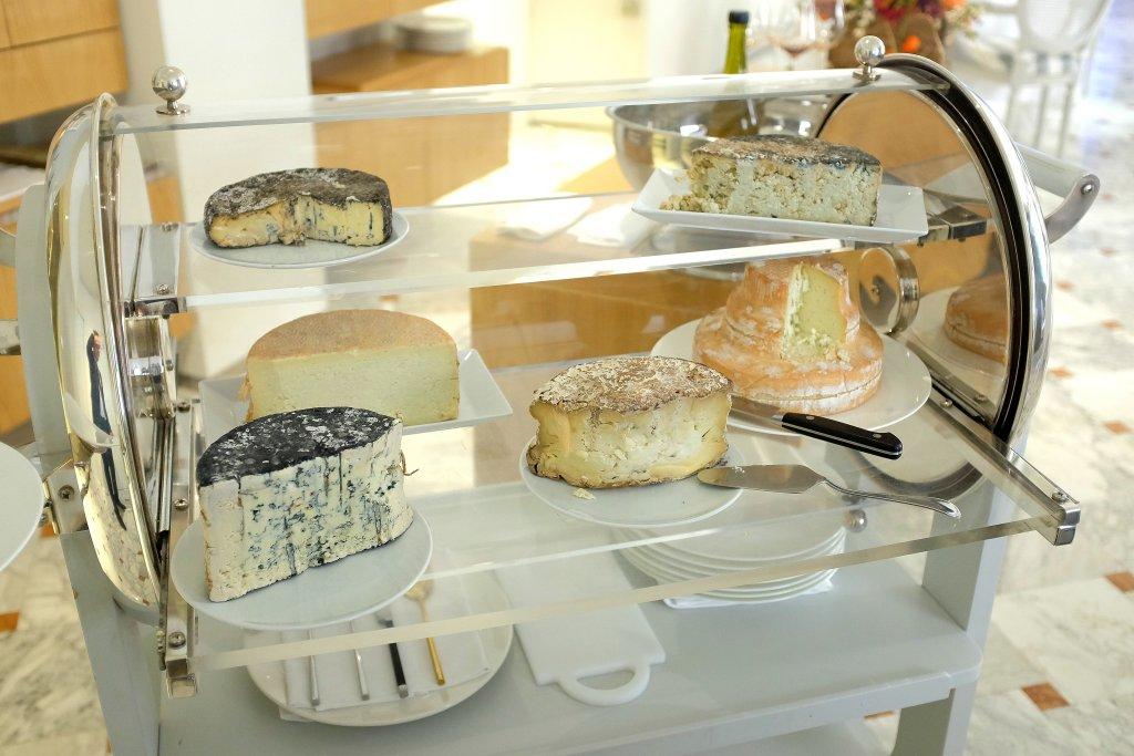 carrello dei formaggi, I Due Buoi, Chef Andrea Ribaldone, Alessandria