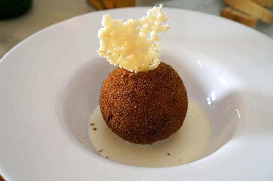 arancina, I Banchi, Chef Giuseppe Cannistrà, Ciccio Sultano, Ragusa Ibla