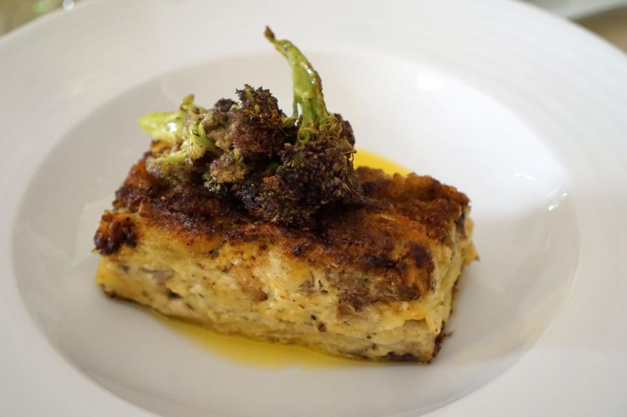 lasagnetta di pesce azzurro, I Banchi, Chef Giuseppe Cannistrà, Ciccio Sultano, Ragusa Ibla