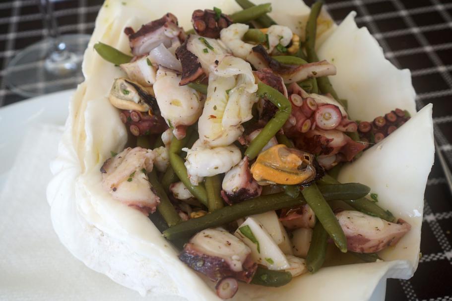 insalata di mare, Trattoria da Carmelo, Marina di Ragusa