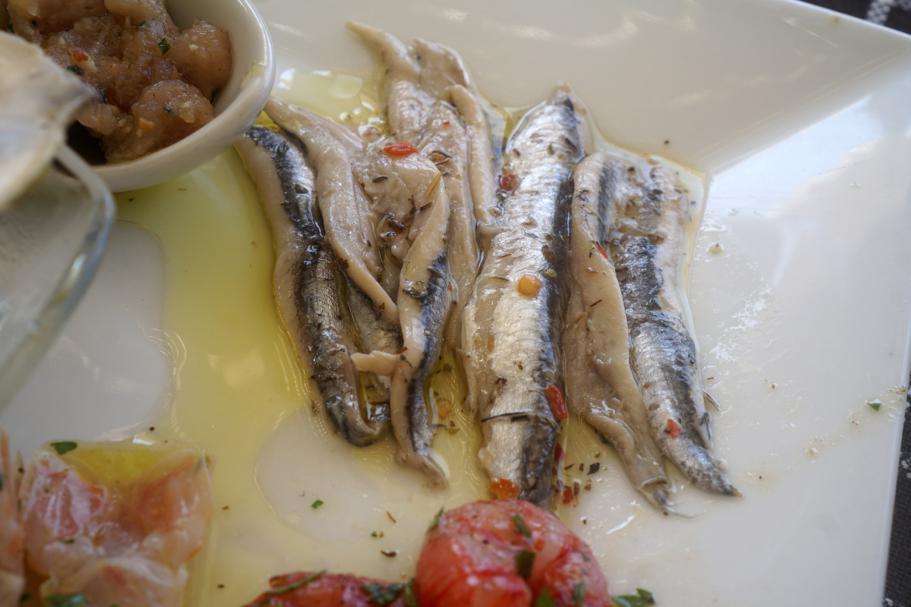 marinati, Trattoria da Carmelo, Marina di Ragusa