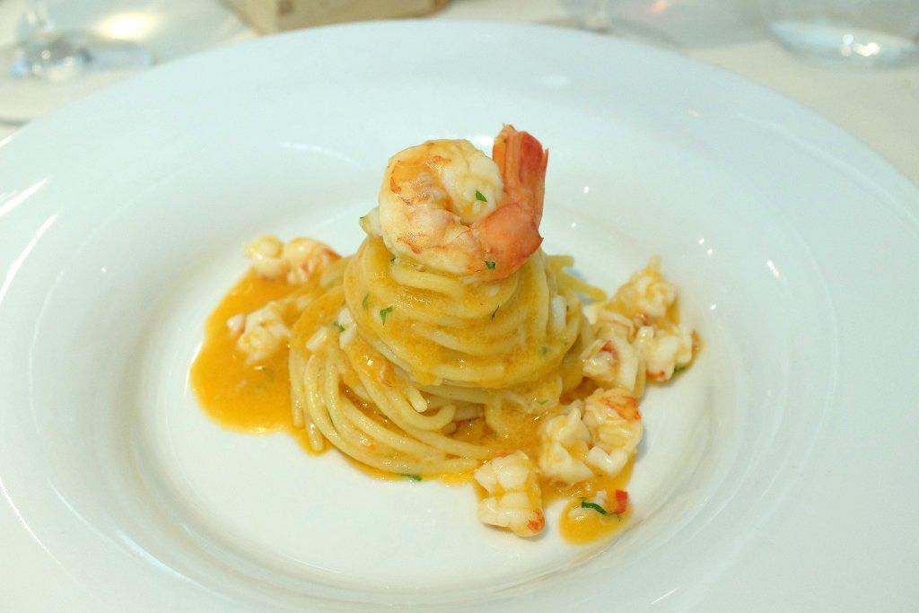 Spaghetti aglio olio, Al Carroponte Enobistrò, Chef Alan Foglieni, Oscar Mazzoleni, Bergamo