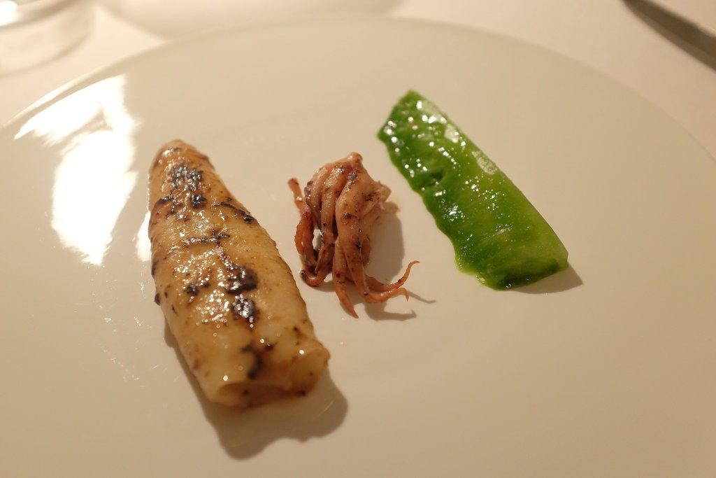 Calamaro lattuga, Reale, Chef Niko Romito, Castel di Sangro