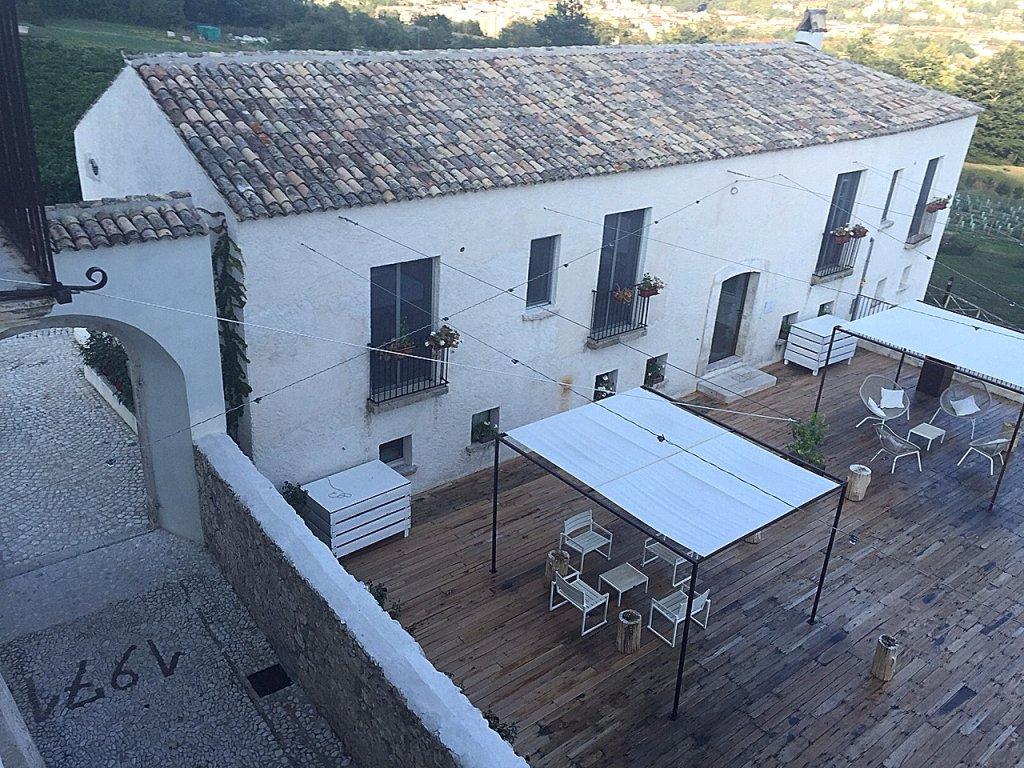 Esterno, Casadonna, Castel di Sangro, Niko Romito