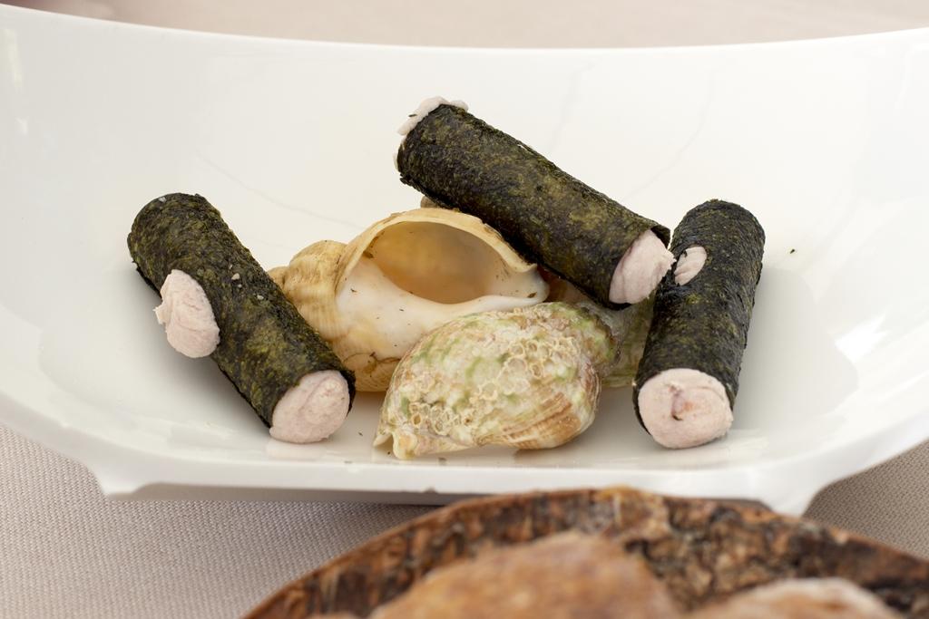 cannoli di alga, Lido 84, Chef Riccardo Camanini, Gardone Riviera